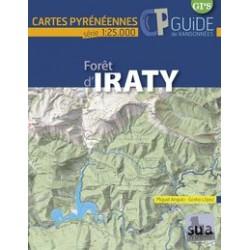 Cartes Pyrénéennes Foret d'Iraty