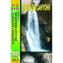 Canyons i Cavitats de l'Alt Berguedà 1:50.000