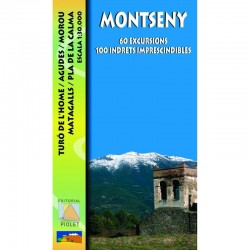 Montseny 60 Excursions 100 Indrets 1:30.000