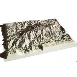 Mapa Relleu Serra de Montsant 1:42.500