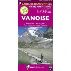 A3 Vanoise 1/50.000
