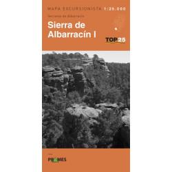 Mapa TOP 25 Sierra de Albarracín I