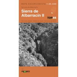 Mapa TOP 25 Sierra de Albarracín II