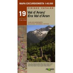Mapa 1:45.000 Era Val d'Aran