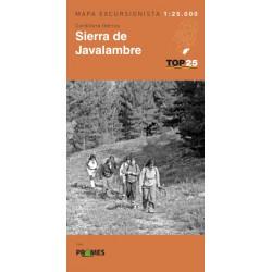 Mapa TOP 25 Sierra de Javalambre