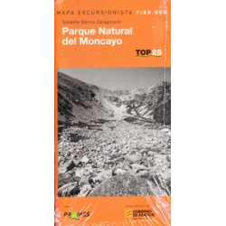Mapa TOP 25 Parque Natural del Moncayo