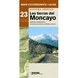 Mapa 1:40.000 Las Tierras del Moncayo