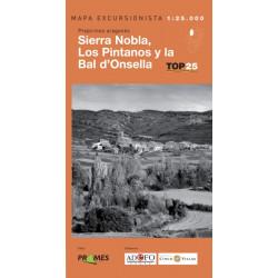 Mapa TOP 25 Sierra Nobla, Los Pintanos y la Bal d'Onsella