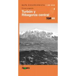Mapa TOP 25 Turbón y Ribagorza Central